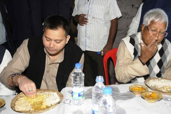 Lalu's son Tejashwi shares brother's love for conspiracies: Claims Nitish govt planning to poison his food