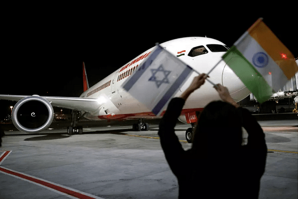 Air India creates history by becoming first airline in 70 years to fly to Israel via Saudi Arabia's airspace
