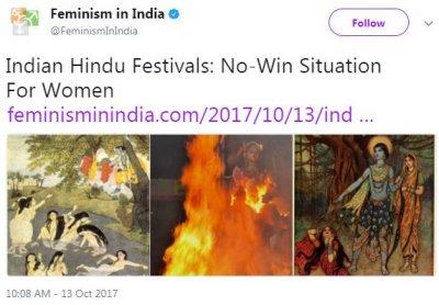 Hinduphobia under guise of liberalism