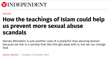 Islamic propaganda on The Independent