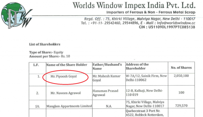 Kapil Sibal's friend is business partner of tainted Gupta brothers