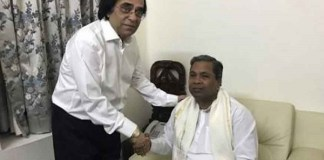 Controversial businessman accused of land grabbing and murder joins Congress in Karnataka