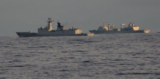 Indian Navy's welcome tweet to China