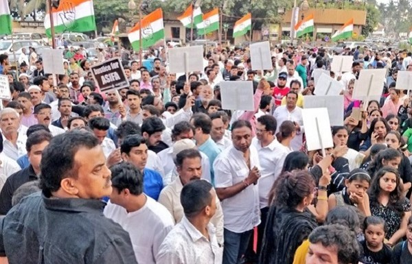 Colleague accuses Youth Congress workers of molesting her during Kathua and Unnao rape protest