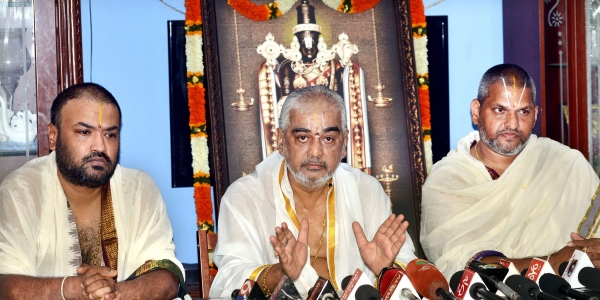 Political leaders politicizes whole issue about Tirumala controversy
