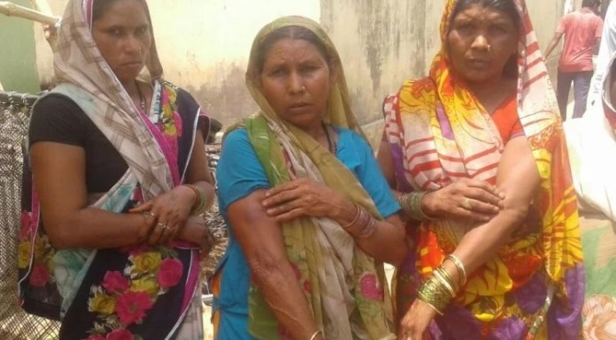 Dalit women molested by Muslims