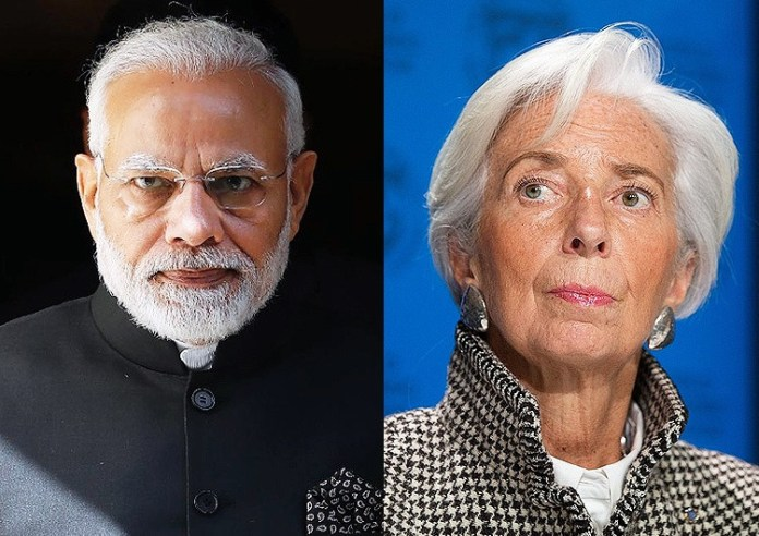 IMF lauds Modi Government
