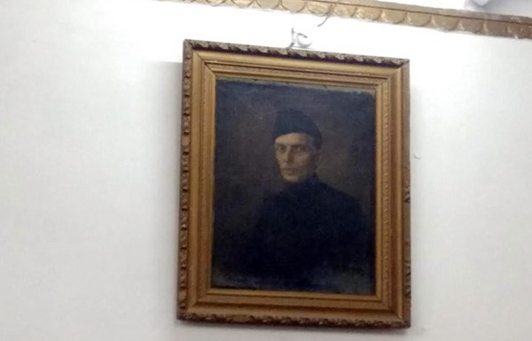 Jinnah portrait hanging in AMU has sparked row
