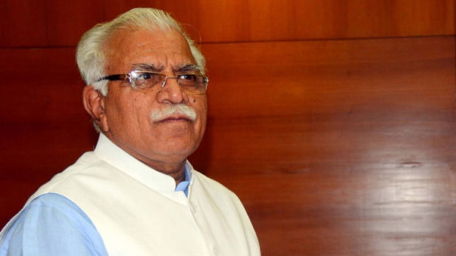 ML Khattar to take oath for the second term as Haryana's CM on Sunday