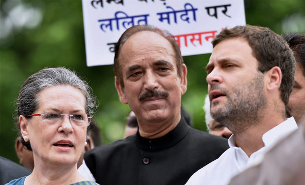 Ghulam Nabi Azad advocates for changes in Congress party