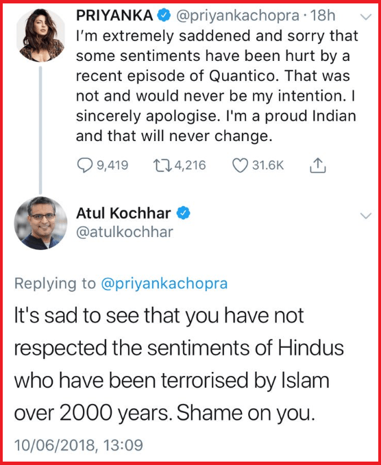 Trolls and Restaurant aggregators go after celebrity chef's livelihood after he highlights persecution of Hindus by Islamists