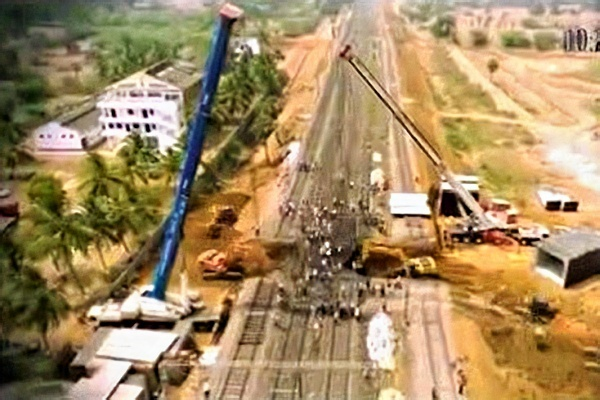 In a bid to eliminate railway crossings, Indian Railways builds subway in record 4.5 hours