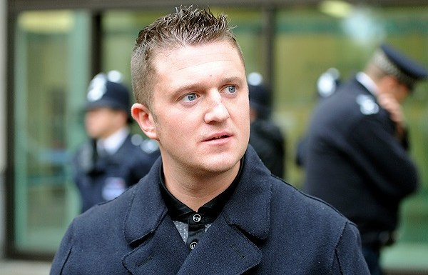 Activist Tommy Robinson who was arrested for reporting about paedophile gangs, released on bail