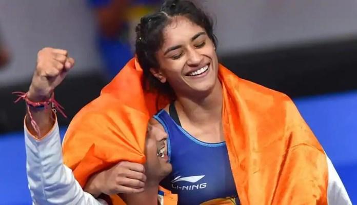 Vinesh Phogat wins Gold at Asian Games 2018 in Jakarta