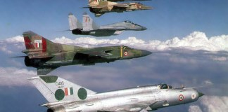Indian Air force Fighter aircraft