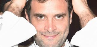 Temple run beckoning Rahul gandhi in Madhya Pradesh