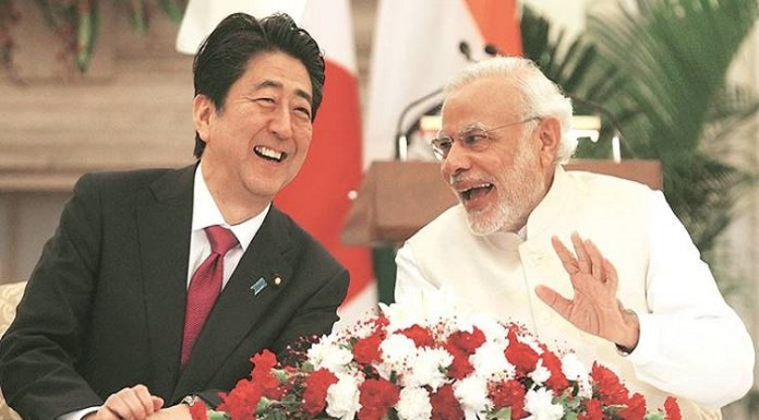PM Modi to meet OM Abe in Japan and talk about various bilateral project