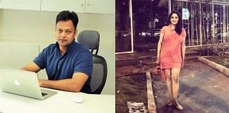 Abhinav Khare and Sonam Mahajan