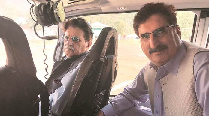 Pok official entered Indian territory in a helicopter