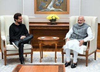Jack Dorsey and Narendra Modi