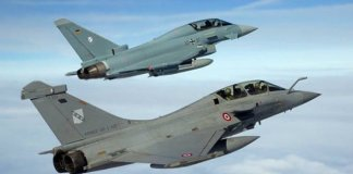 Eurofighter and Rafale
