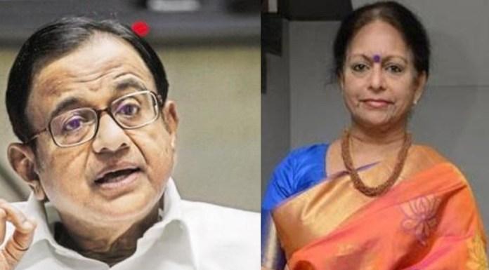 Both P Chidambaram and Nalini Chidambaram are accused in cases related to financial irregularities