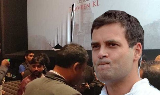 Congress vandalised Kolkata theatres to disrupt screening of The Accidental Prime Minister while Rahul Gandhi preaches in Dubai