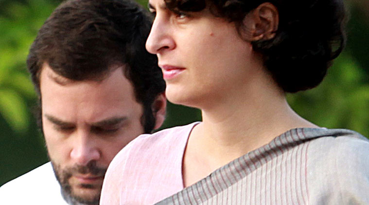 Priyanka Gandhi's entry into politics seems like a skit where people dress up as politicians for laughs
