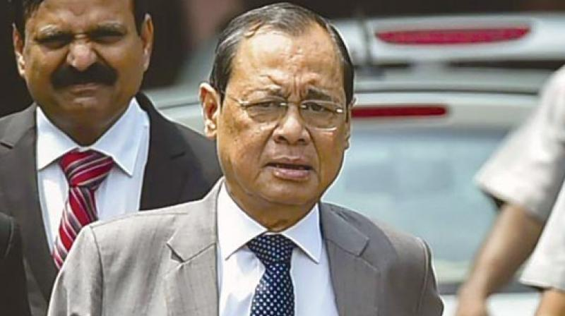 Former court staffer accuses CJI Gogoi of sexual harassment, CJI denies charges