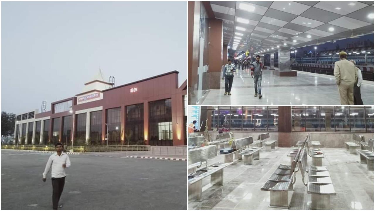 Varanasi Manduadih Railway Station Gets A Fresh New Look