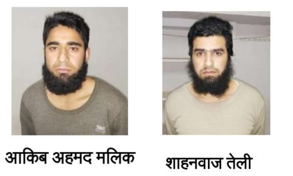 Uttar Pradesh: Two suspected terrorists hailing from Kashmir, with links to Jaish-e-Mohammad arrested