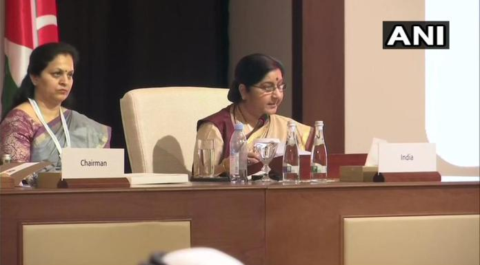 EAM was addressing the OIM conclave held in Abu Dhabhi