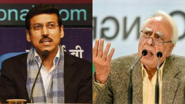 Rajyavardhan Rathore responds to allegations raised by Kapil Sibal