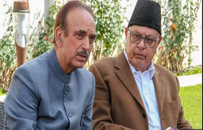 Jammu-based NGO Ikkjut Jammu has claimed that the Abdullahs and Ghulam Nab Azad had conspired to convert Jammu into a Muslim-majority region like Kashmir