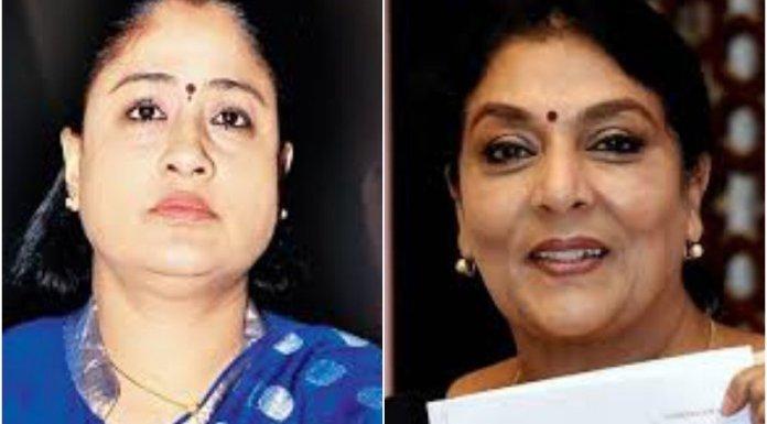 Renuka Chowdhury has condemned Vijaya Shanti's remarks against the PM