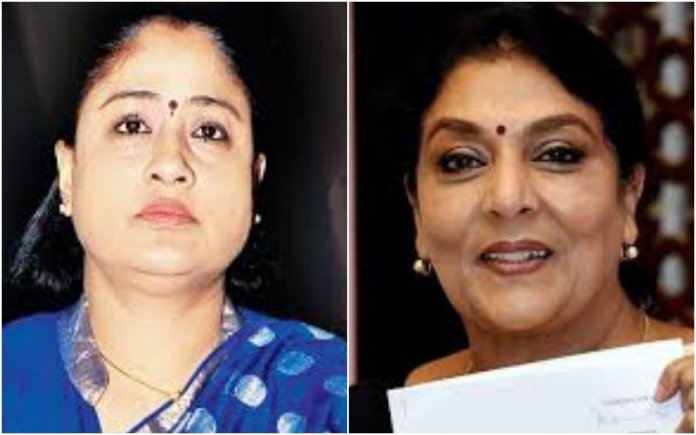 Renuka Chowdhury has condemned Vijaya Shanti's remarks against the PM