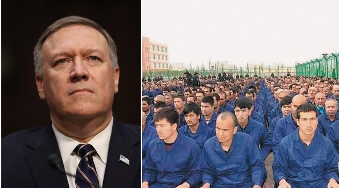 Mike Pompeo took a strong stand against Uighur detention camps in China