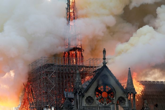 Many social media users with Muslim names were seen celebrating the fire and even calling for the destruction of France