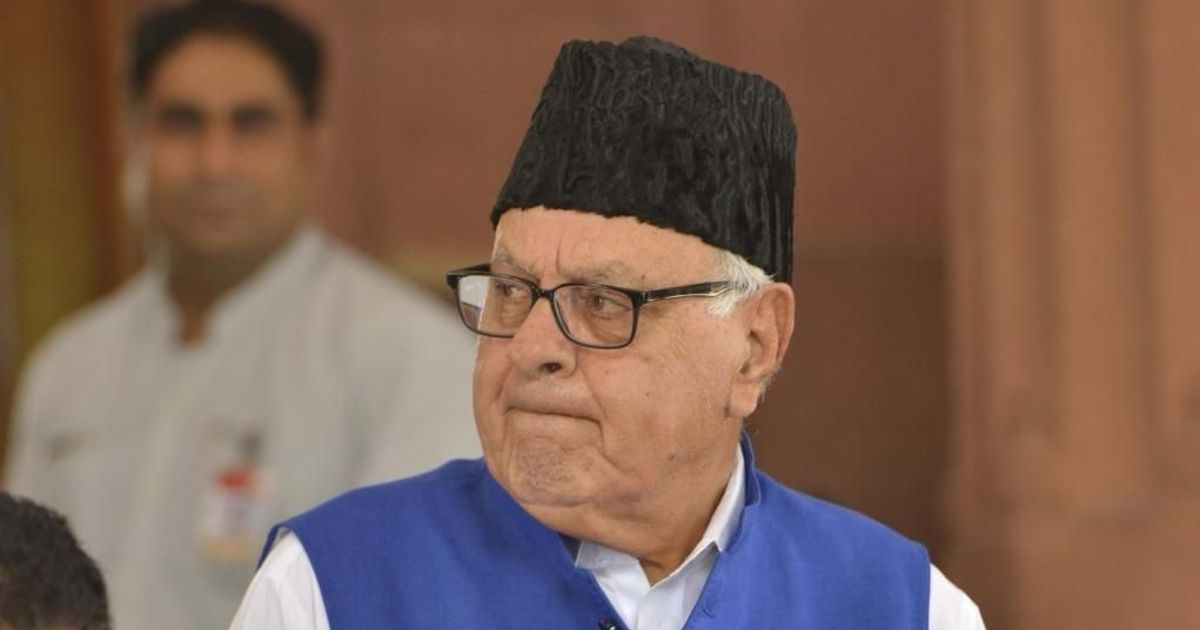 Jammu and Kashmir: Farooq Abdullah detention extended by three months under PSA