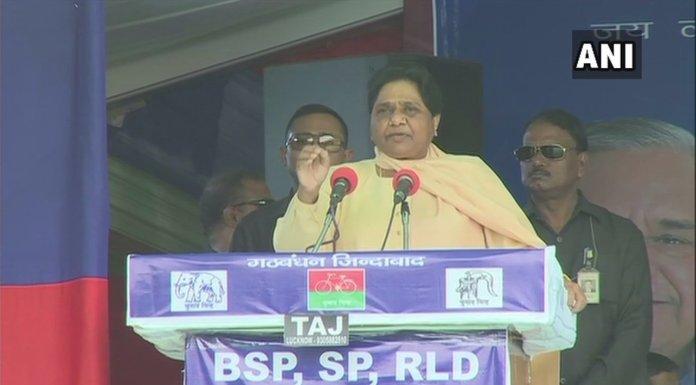 Mayawati attacks PM Modi saying that he belongs to fake backward community