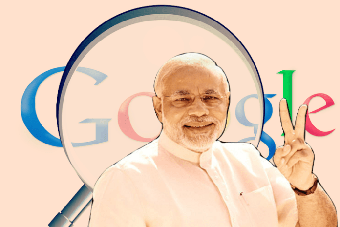 If you believe Google trends, this election is a runaway win for Modi
