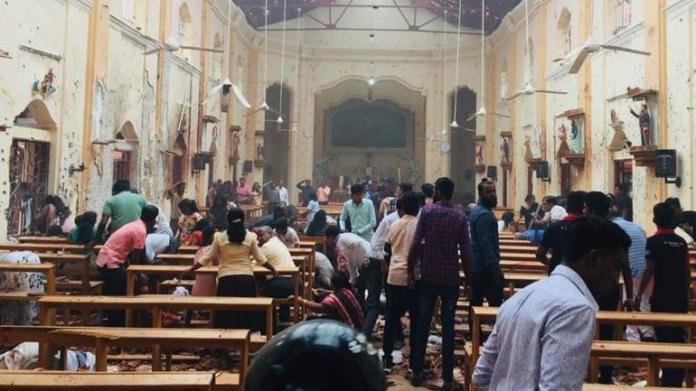 Blast at Sri Lankan Church, Image source: India Today