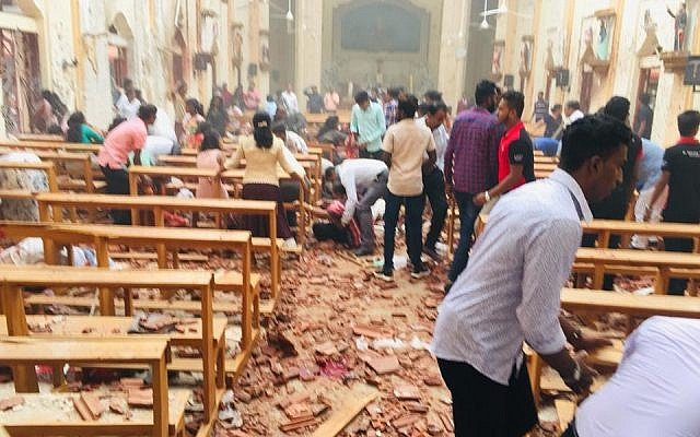 Sri Lankan Parliamentary Select Committee's report has stated that the Indian High Commission building was one of the potential targets of Easter Sunday bombers too