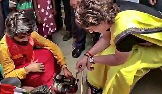 Animal rights activist files complaint against Priyanka Gandhi