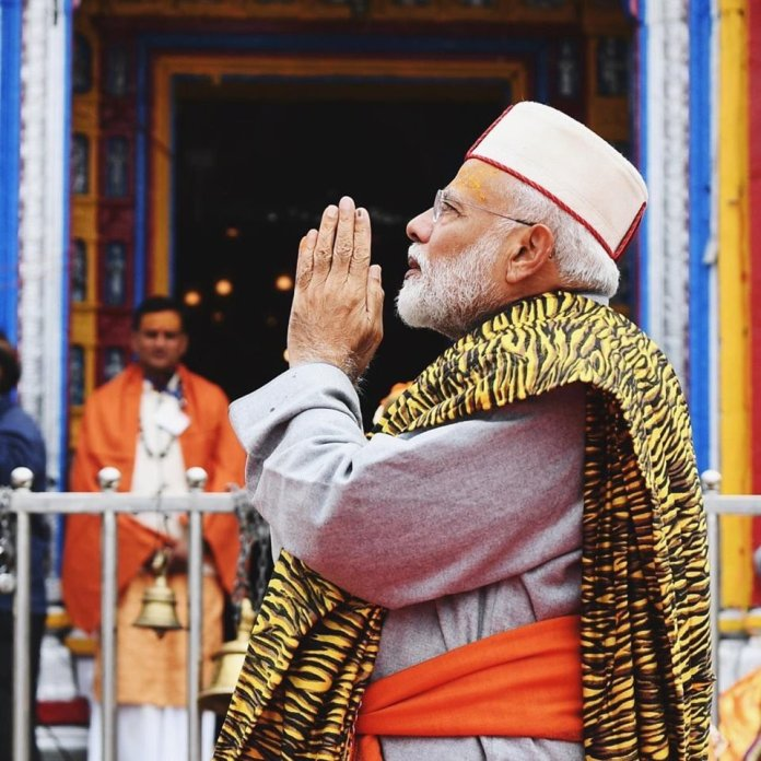 PM Modi is on a two-day visit to Kedarnath and Badrinath