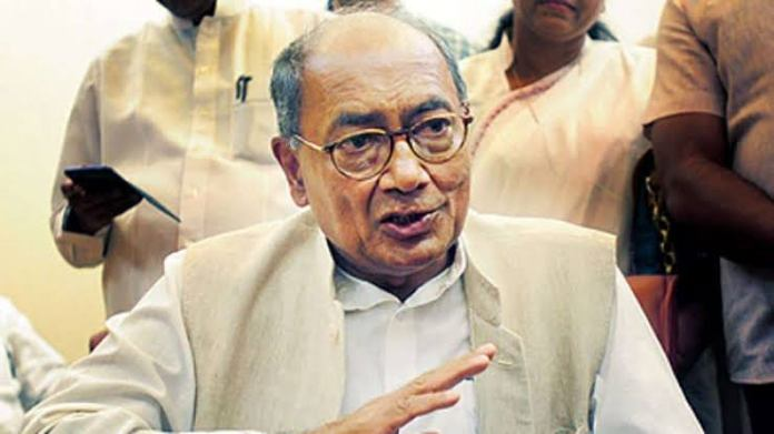 Digvijay Singh locks his twitter account, blames Twitter and hacking