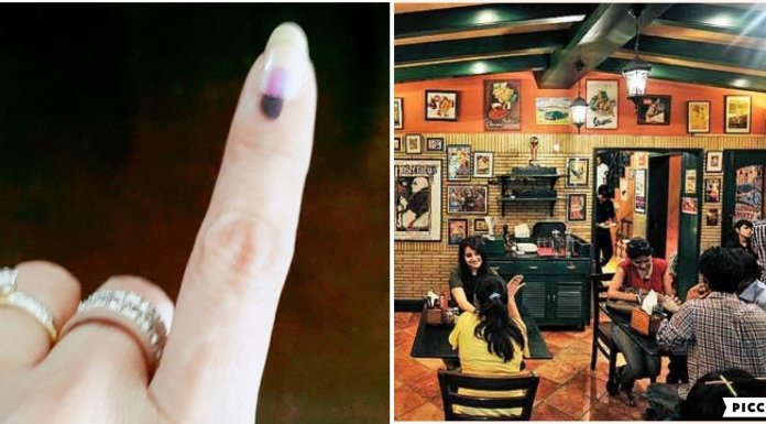 Patna restaurant owners have planned to cash on the voting day enthusiasm