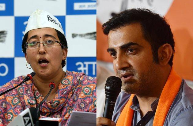 Atishi Marlena accuses Gautam Gambhir of spreading abusive letter ...