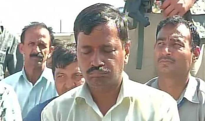 Kejriwal slapped, again