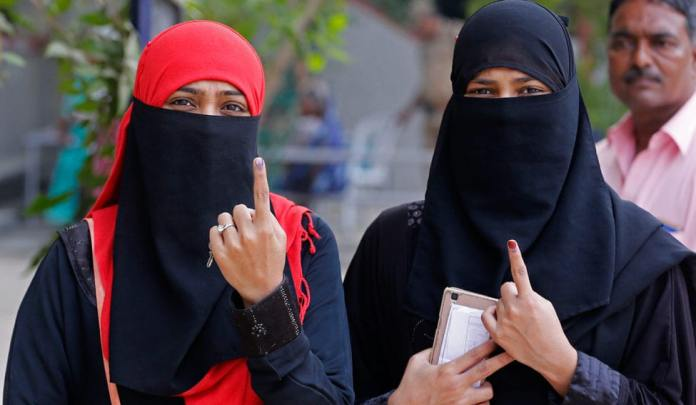 A Muslim woman in Jharkhand was allegedly assaulted by her husband and son after she voted for BJP